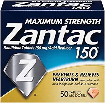 Is Zantac safe for Asian Flush?