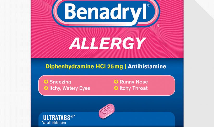 Does Benadryl help alcohol flush?