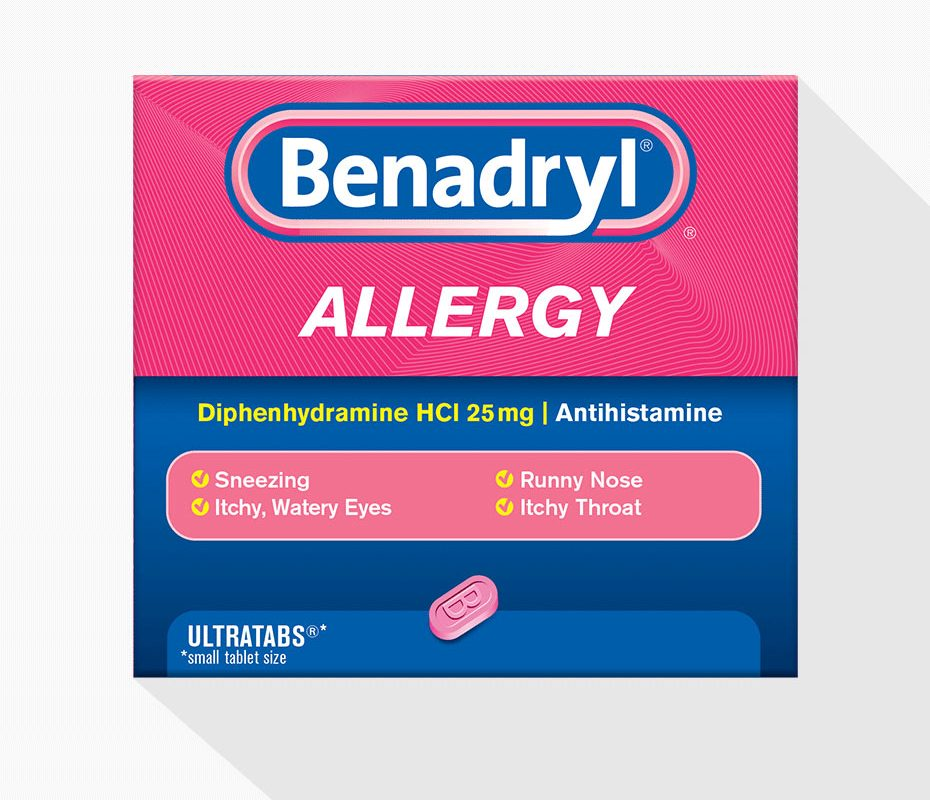 Does Benadryl help alcohol flush